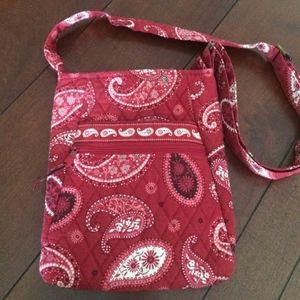 Vera Bradley Hipster Mesa Red Cross-body bag